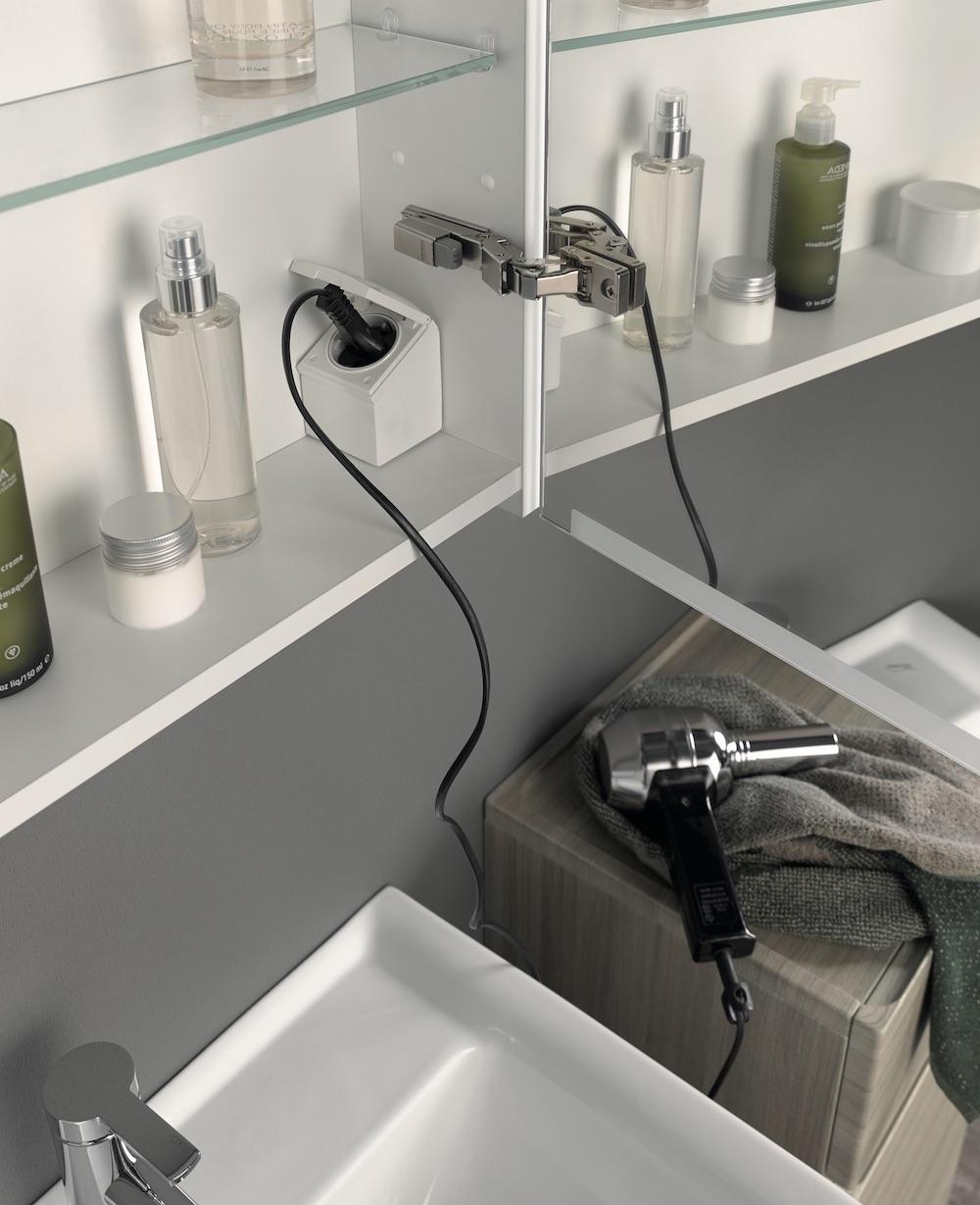 """Een spiegelkast is een """"must"""" voor de badkamer"""