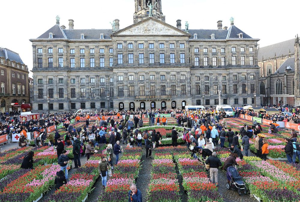 Styling ID Beurzen en Evenementen Gratis tulpen plukken in Amsterdam 2