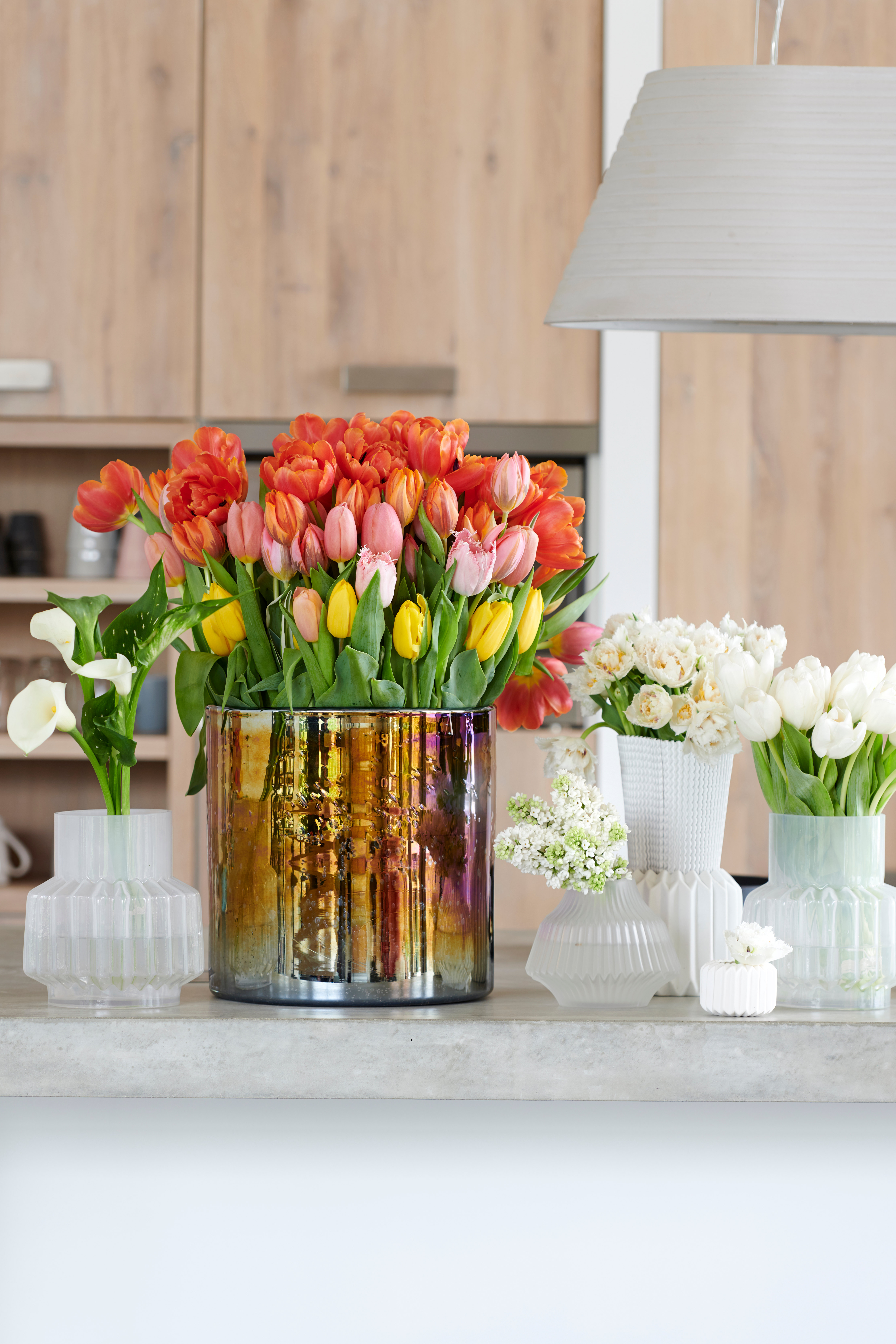 Styling ID Tips & Trends Vier het nieuwe jaar met deze kleurrijke tulpen 6