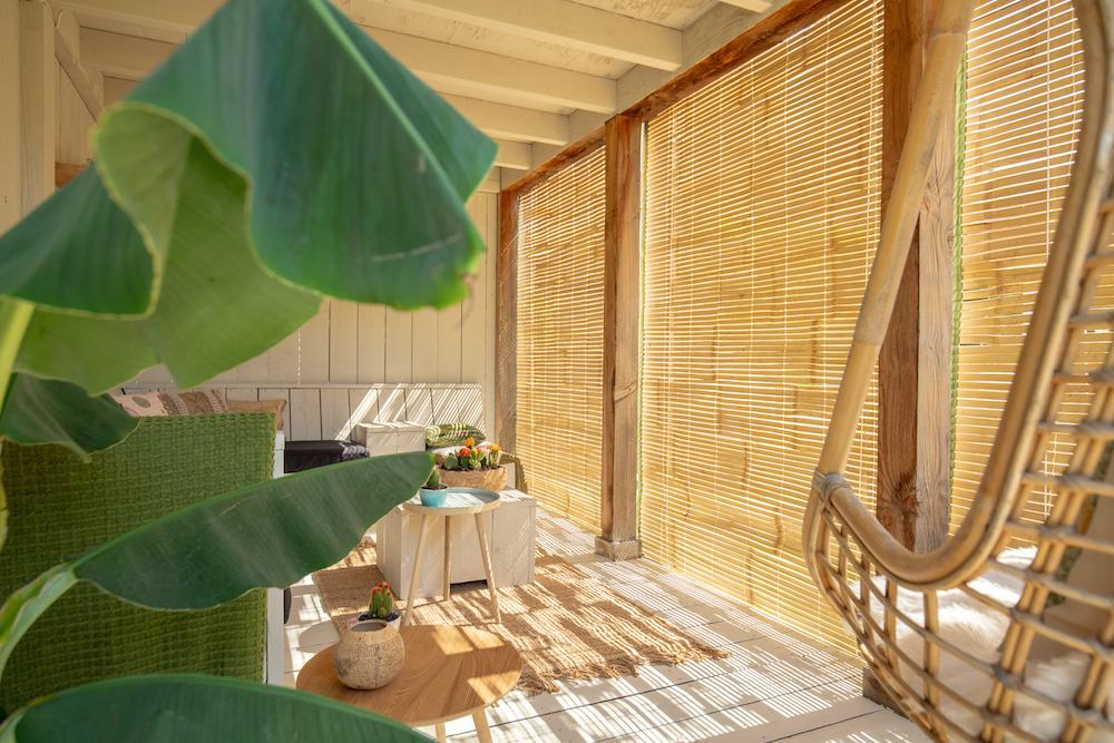 Styling ID Tips en Trends stijlvolle veranda bamboe zonwering 2