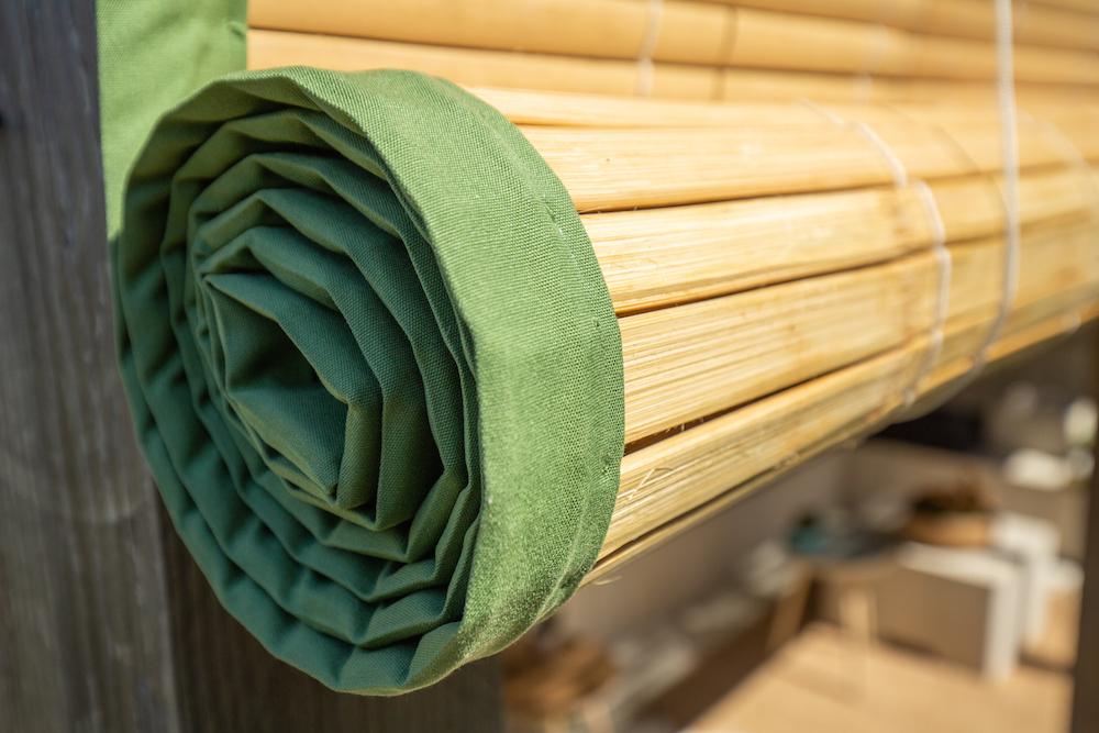 Styling ID Tips en Trends stijlvolle veranda bamboe zonwering