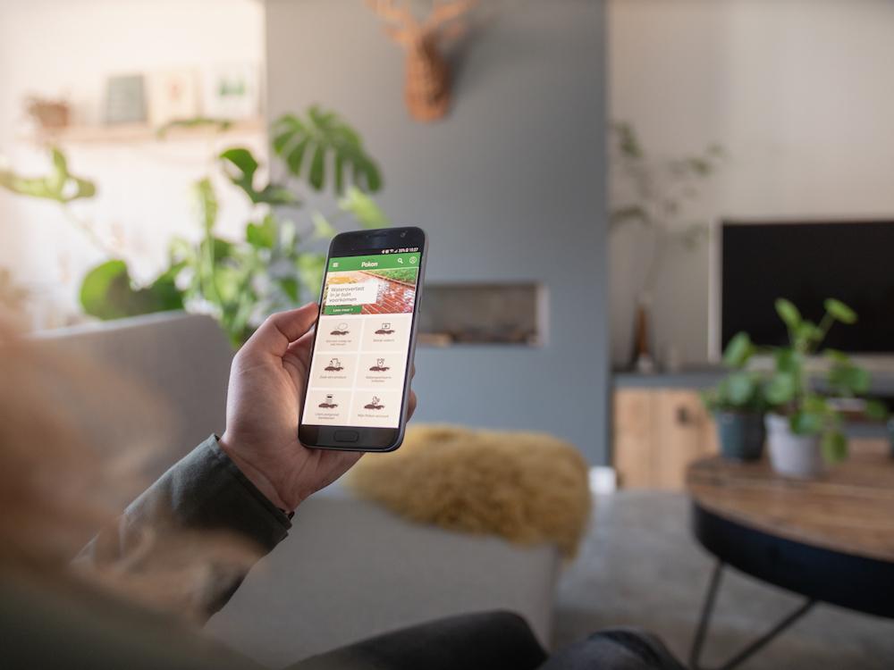 Download de Pokon App gratis en je krijgt spontaan groene vingers 4