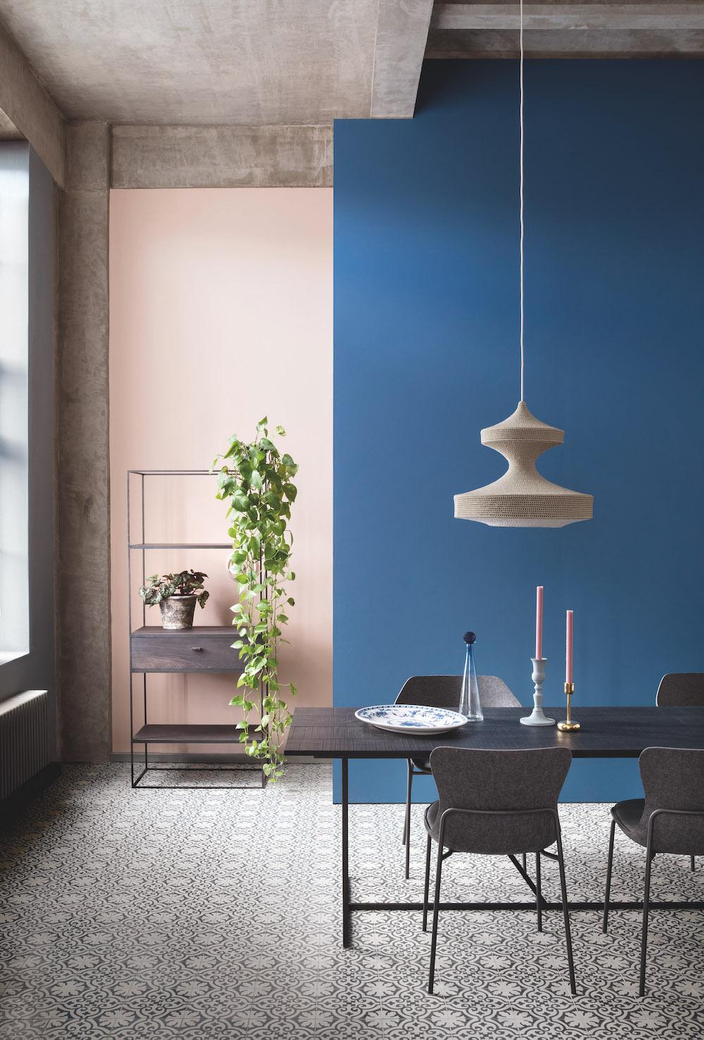 Styling ID tips en trends Paint and Paper Library komt met superieure en matte interieurverf 13. TEMPLE, BLUE PEARL