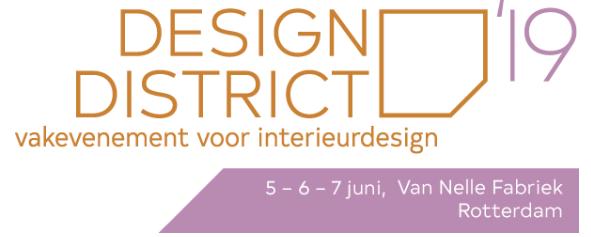 Styling ID Beurzen en evenementen Design District Rotterdam 2019