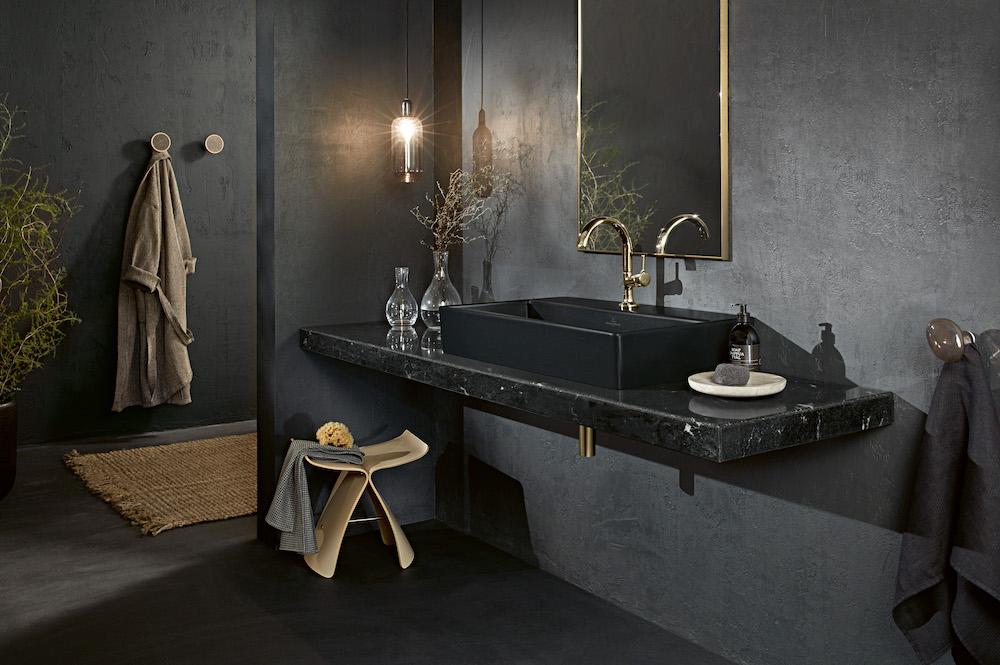 Geef de badkamer een Urban Look