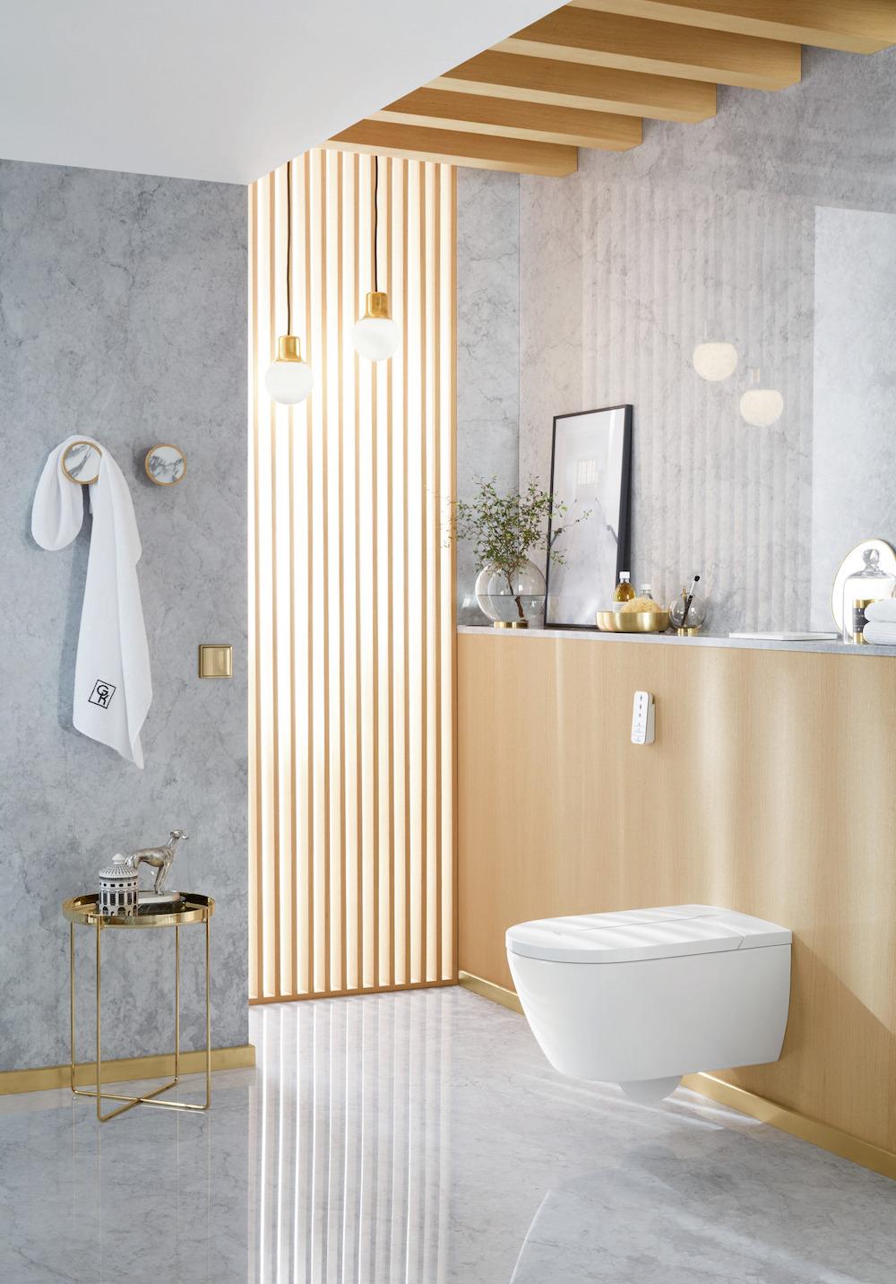 Styling ID Tips en Trends De eerste douche-wc in zwart VI-clean