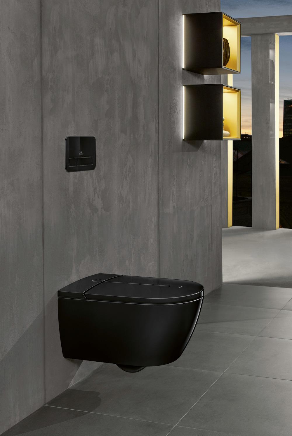 Styling ID Tips en Trends De eerste douche-wc in zwart
