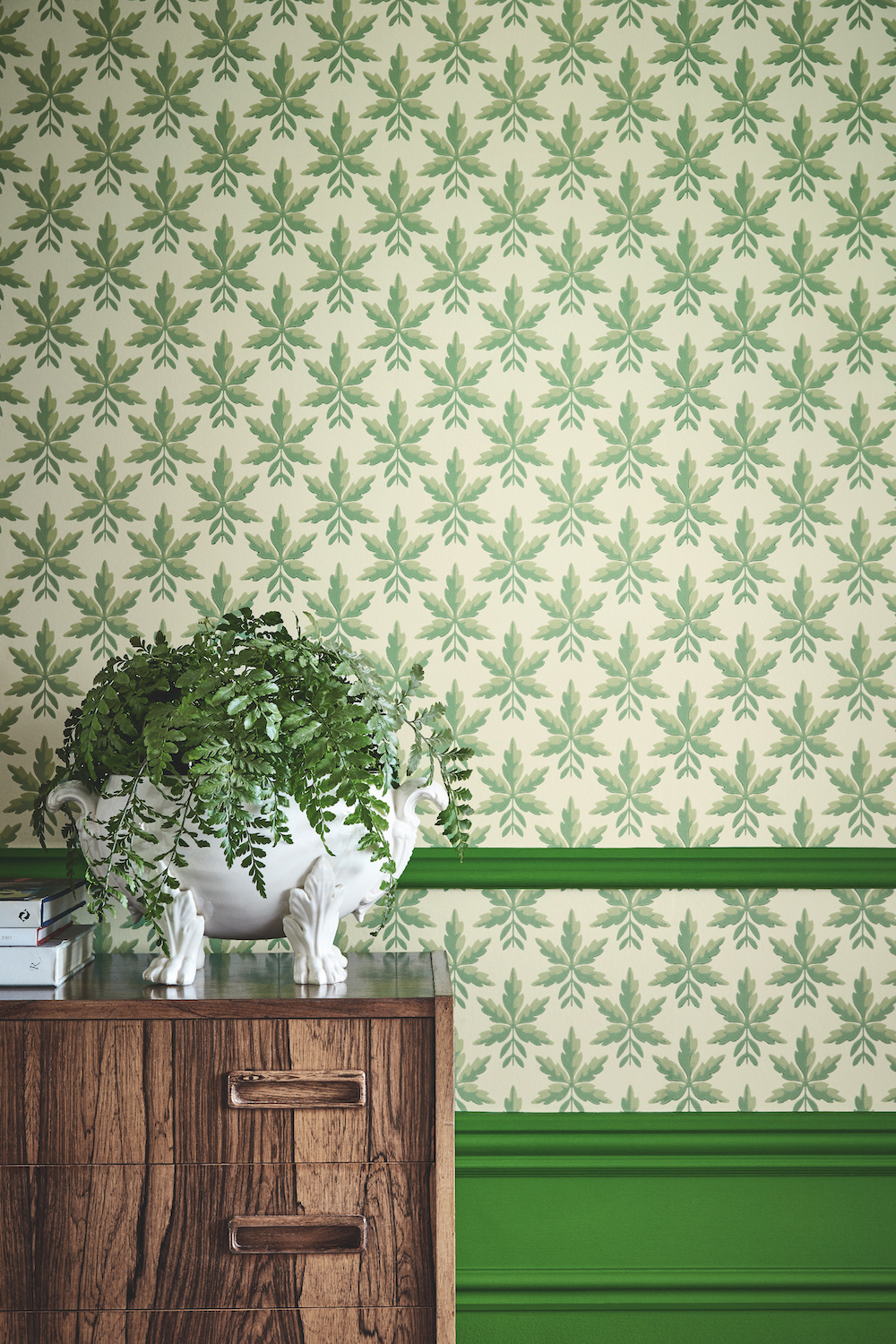 Styling ID Tips en Trends Little Greene behangcollectie: The National Trust Papers Clutterbuck_Lodge