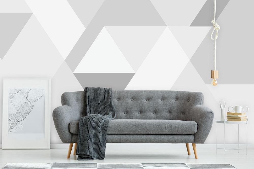 Styling-ID-Tips-en-Trends-Voor-Daring-Walls-is-geen-berg-te-hoog-behang-bergen-abstract-grey
