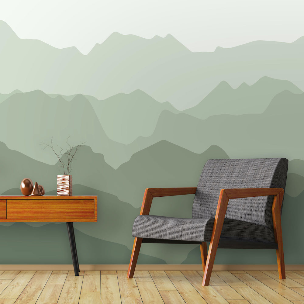 Styling-ID-Tips-en-Trends-Voor-Daring-Walls-is-geen-berg-te-hoog-behang-quiet-mountains-forest