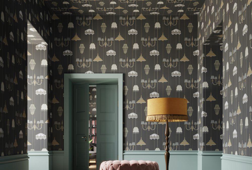 Behang je wanden en plafond met: Drawing Room