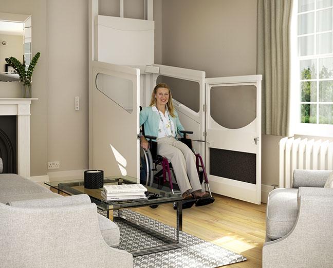 Het aanschaffen van een rolstoellift