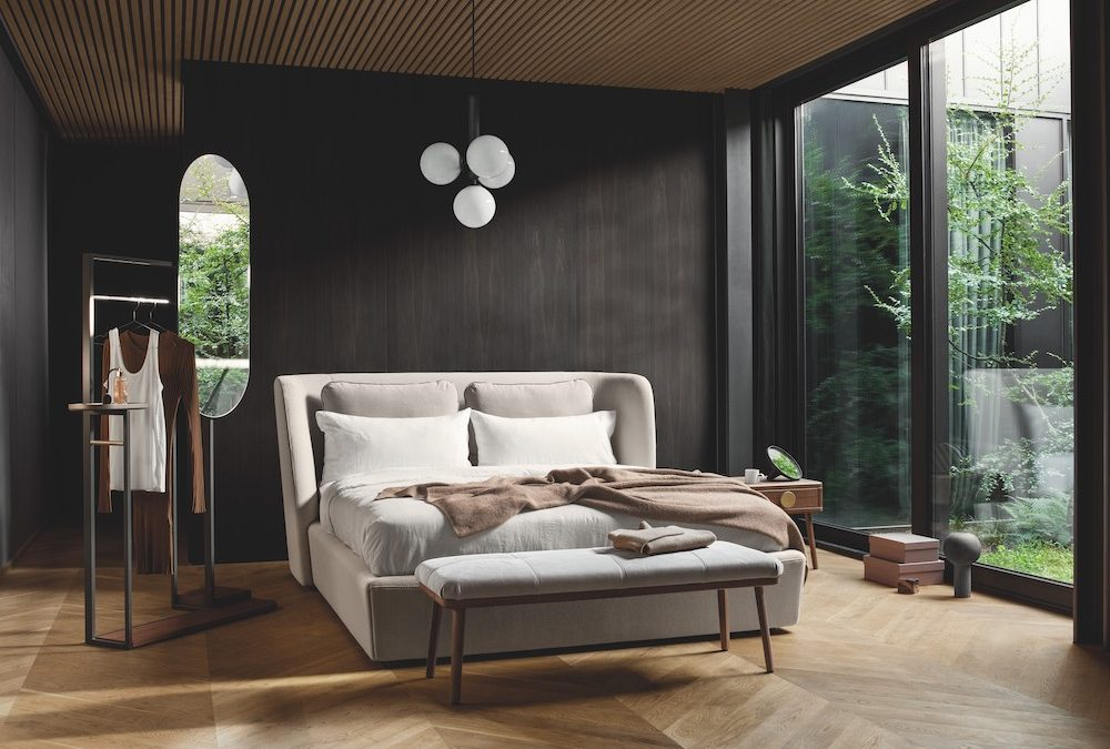 Design bed Rolf Benz TONDO