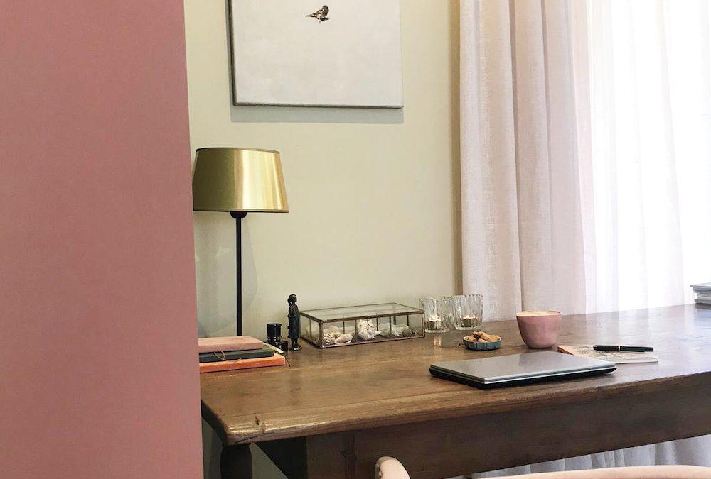Restyle your home office met Amazona Krijtverf