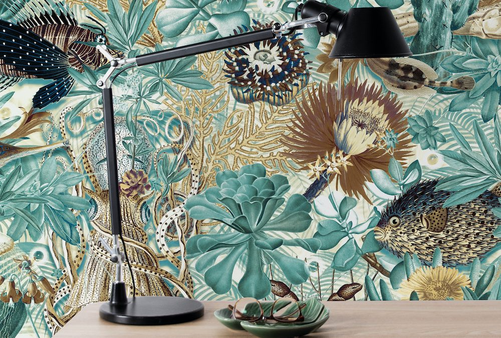 Tip: Underwater Jungle behang van KEK Amsterdam